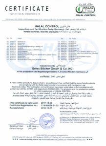 Halal Cerificate