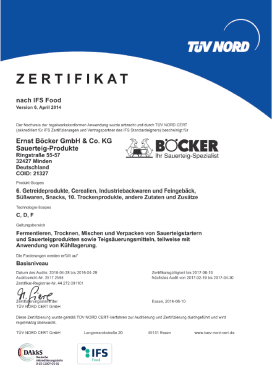 IFS-Certificate Ring - Werft